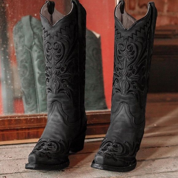 Corral Shoes - Circle G Corral Filigree L 5142 boots new